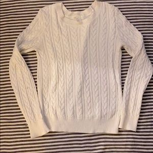 Cable knit sweater H&M